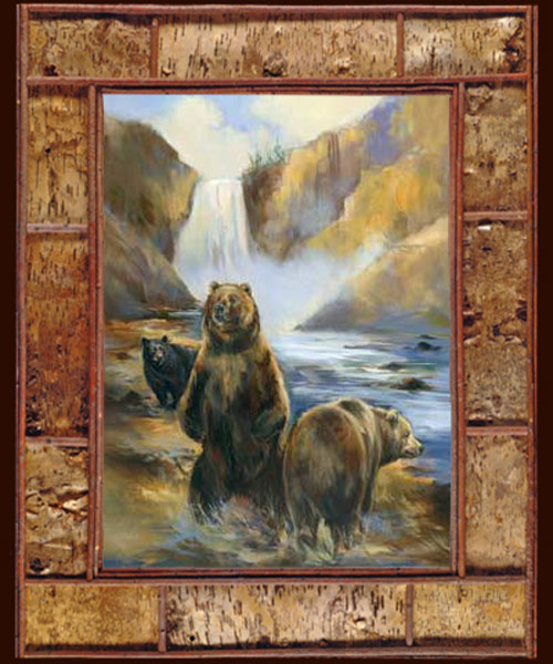 "Fine Art Giclee ""At The Falls"""
