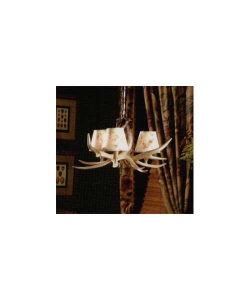The Ozark Faux Antler Chandelier