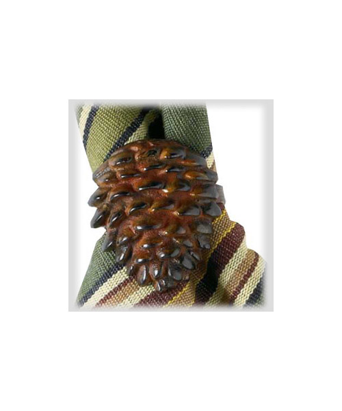Napkin Rings - Pinecone - Set of 4