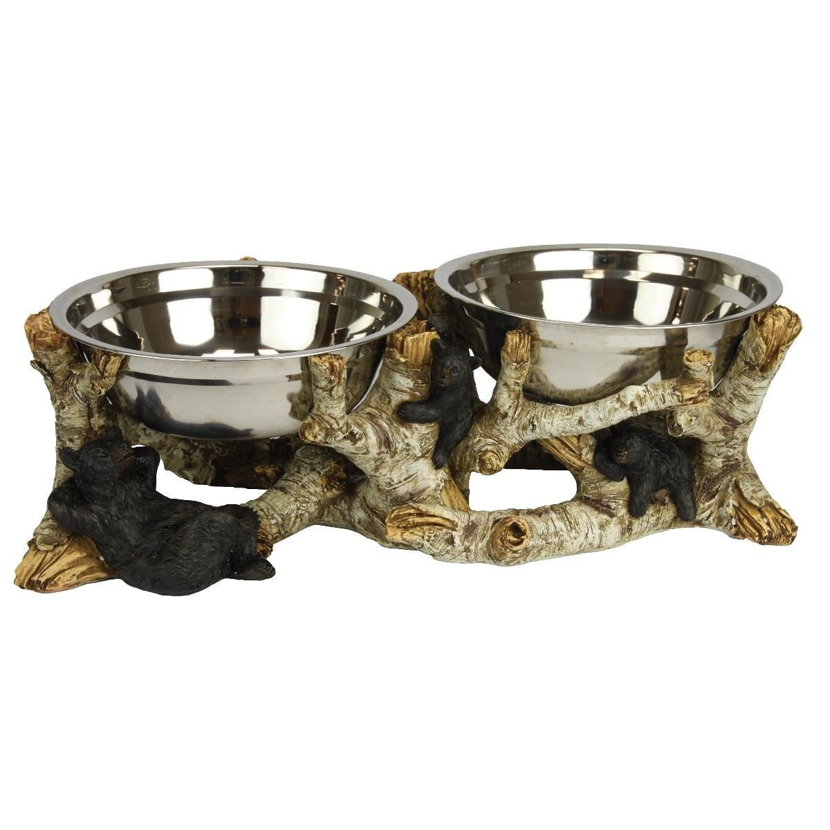 Birch Bears Dog Bowls