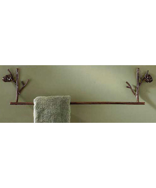 Pinecone Towel Bar 24""