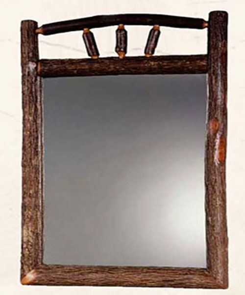 Hickory Vertical Mirror
