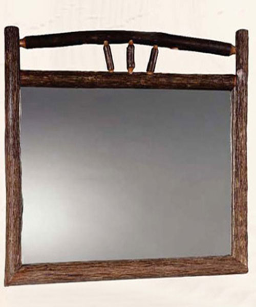 Hickory Horizontal Mirror