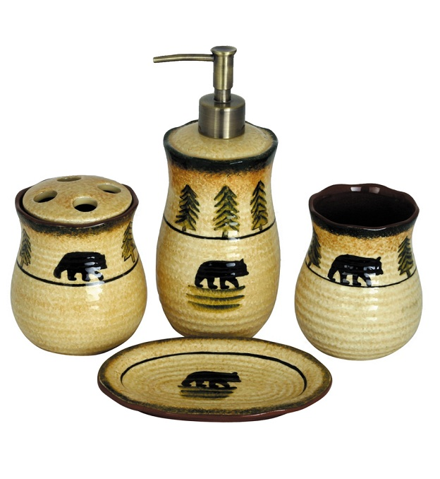 Bear Bath Set