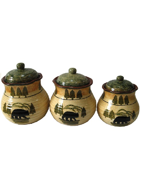 Bear Canister Set