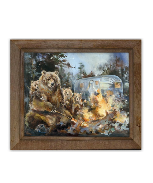 "Fine Art Giclee ""Bearstream"""