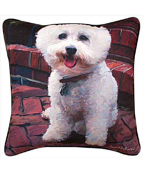 Bichon Pillow