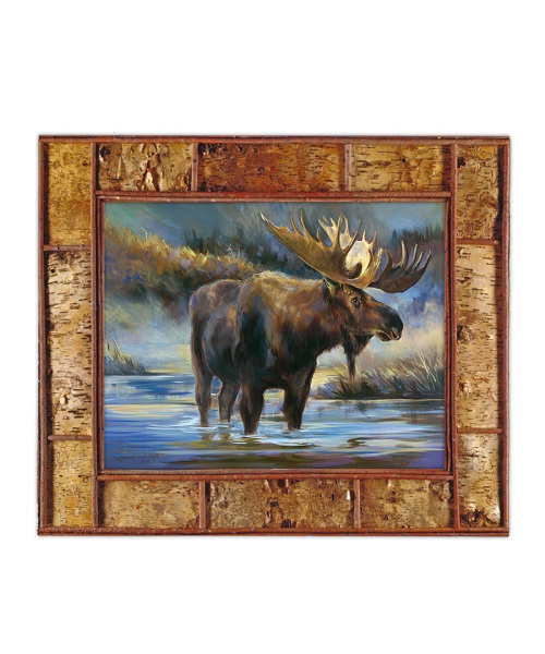 "Fine Art Giclee ""Bull Moose of the Woods"""