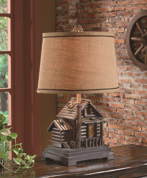 Homestead Cabin Lamp