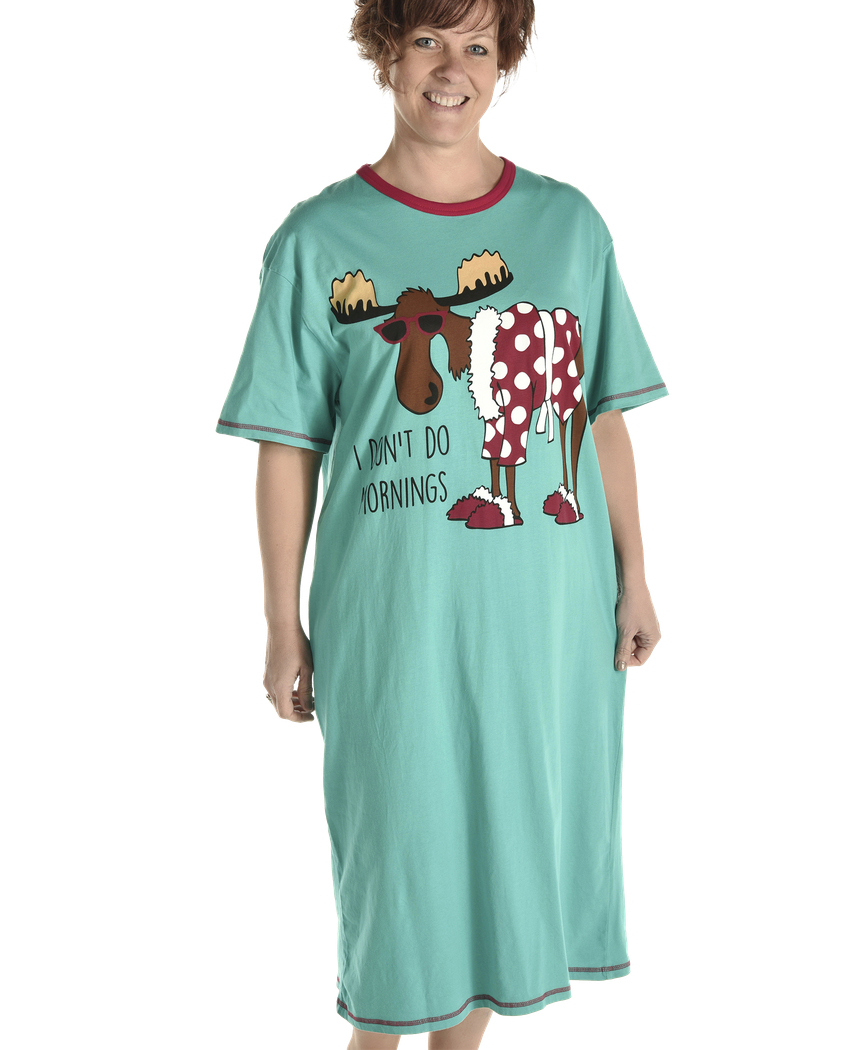 Women's Nightshirt - I Don't Do Mornings