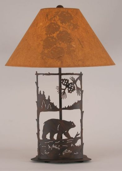 Iron Bear Scene Lamp