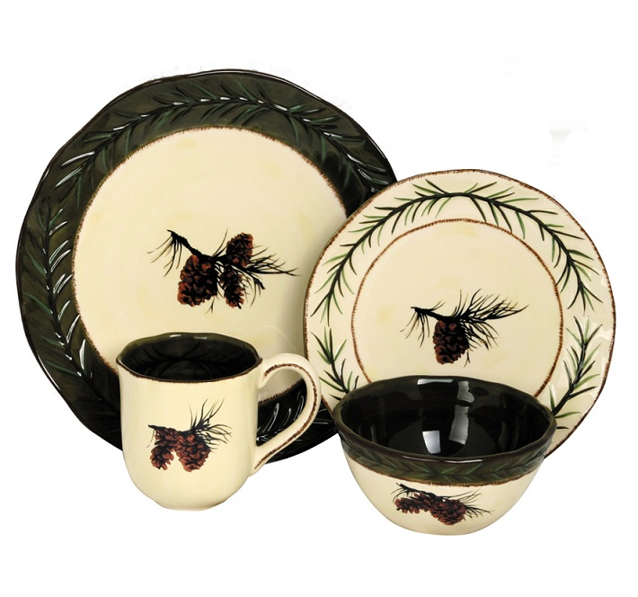 Pinecone Dish Set