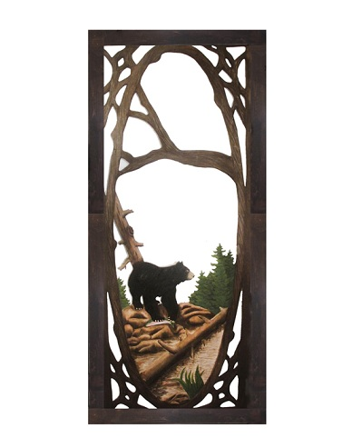 Bear Screen Door