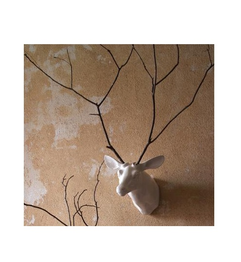 Wall Mount Deer Vase