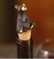 Bearfoots Wine Stopper