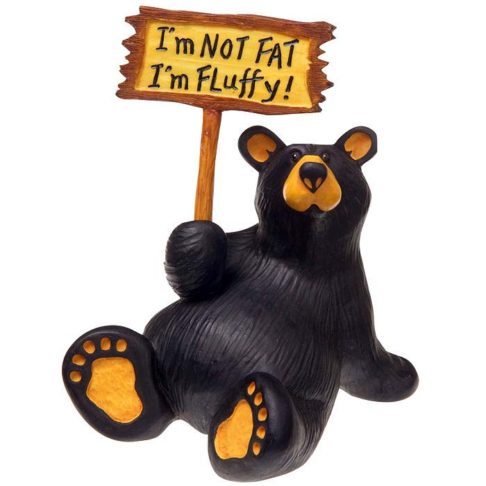 Bearfoots Fluffy Bear Figurine