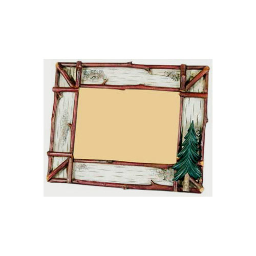 Faux Birch and Twig Photo Frame
