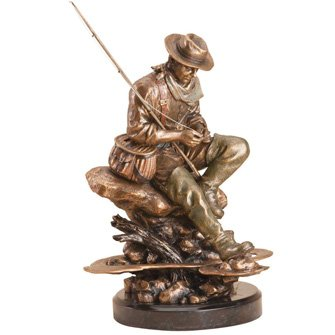 American Bliss Fly Fishing Statue
