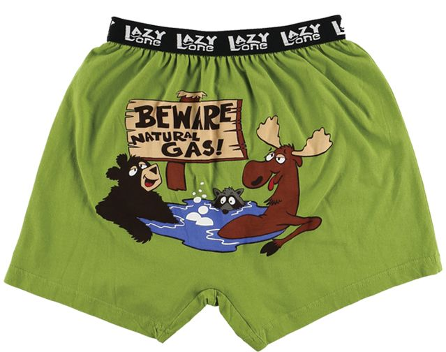 Kids Boxer - Beware Natural Gas