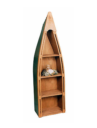 Boat Bookshelf - 4 Color Choices!