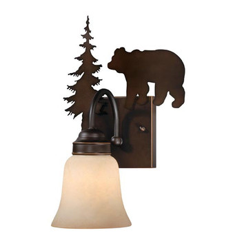 Bozeman Bear Wall Sconce