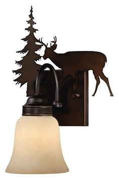 Bryce Deer Wall Sconce
