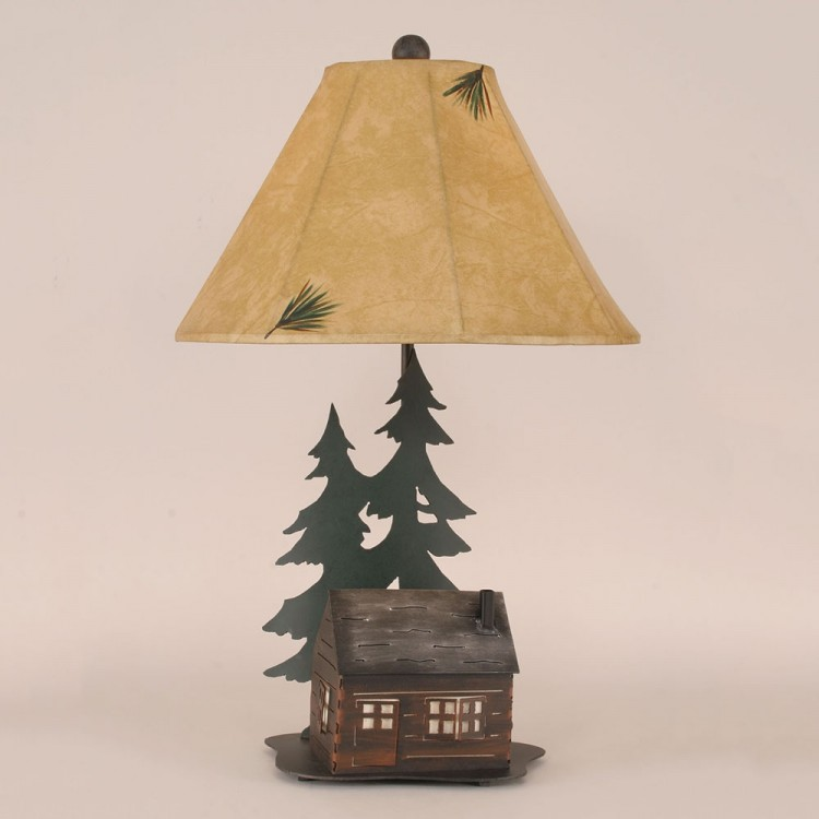 Iron Cabin Table Lamp/Night Light