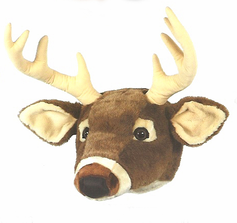 Friendly Face Deer Mount
