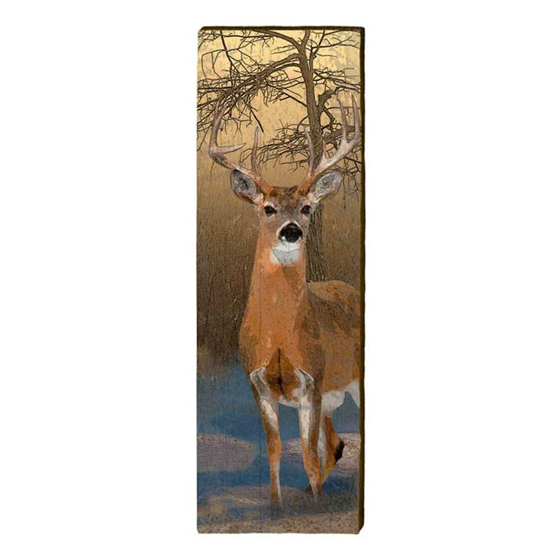 Deer in Water wall art