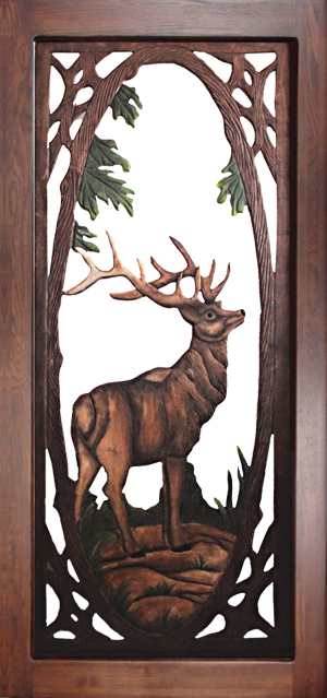 Elk Screen Door & Cabin Fever