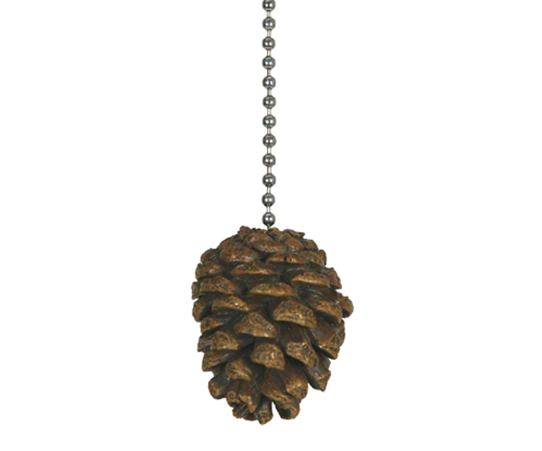 Ceiling Fan Pull - Pinecone