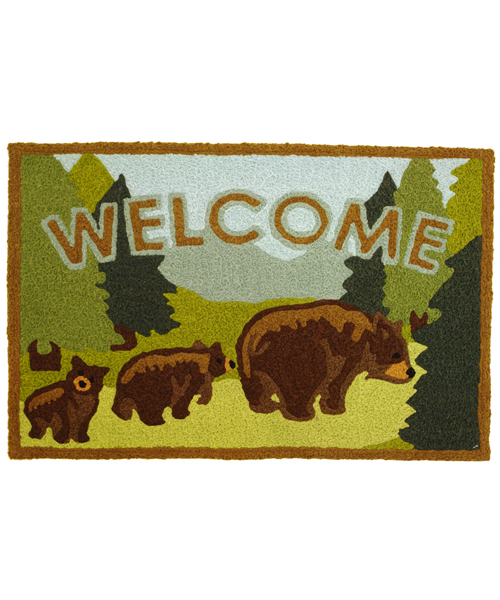 Bath Rug - Bear Welcome