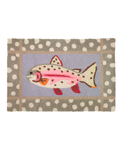 Bath Rug - Mountain Trout