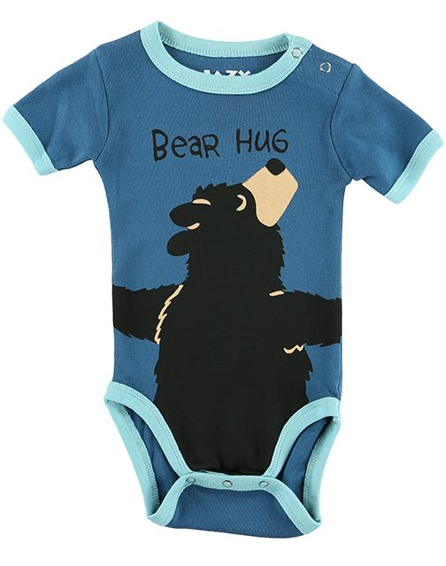 Bear Hug Creeper- Blue