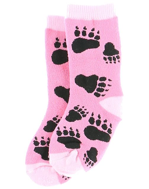 Infant Socks - Bear Hug (pink)