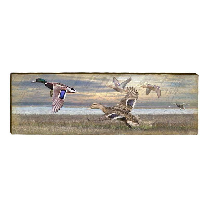 Flying Mallards Wall Art