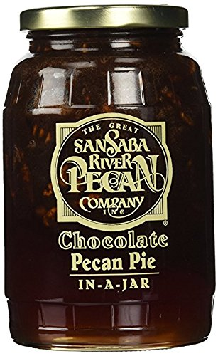 Pecan Chocolate Pie In A Jar