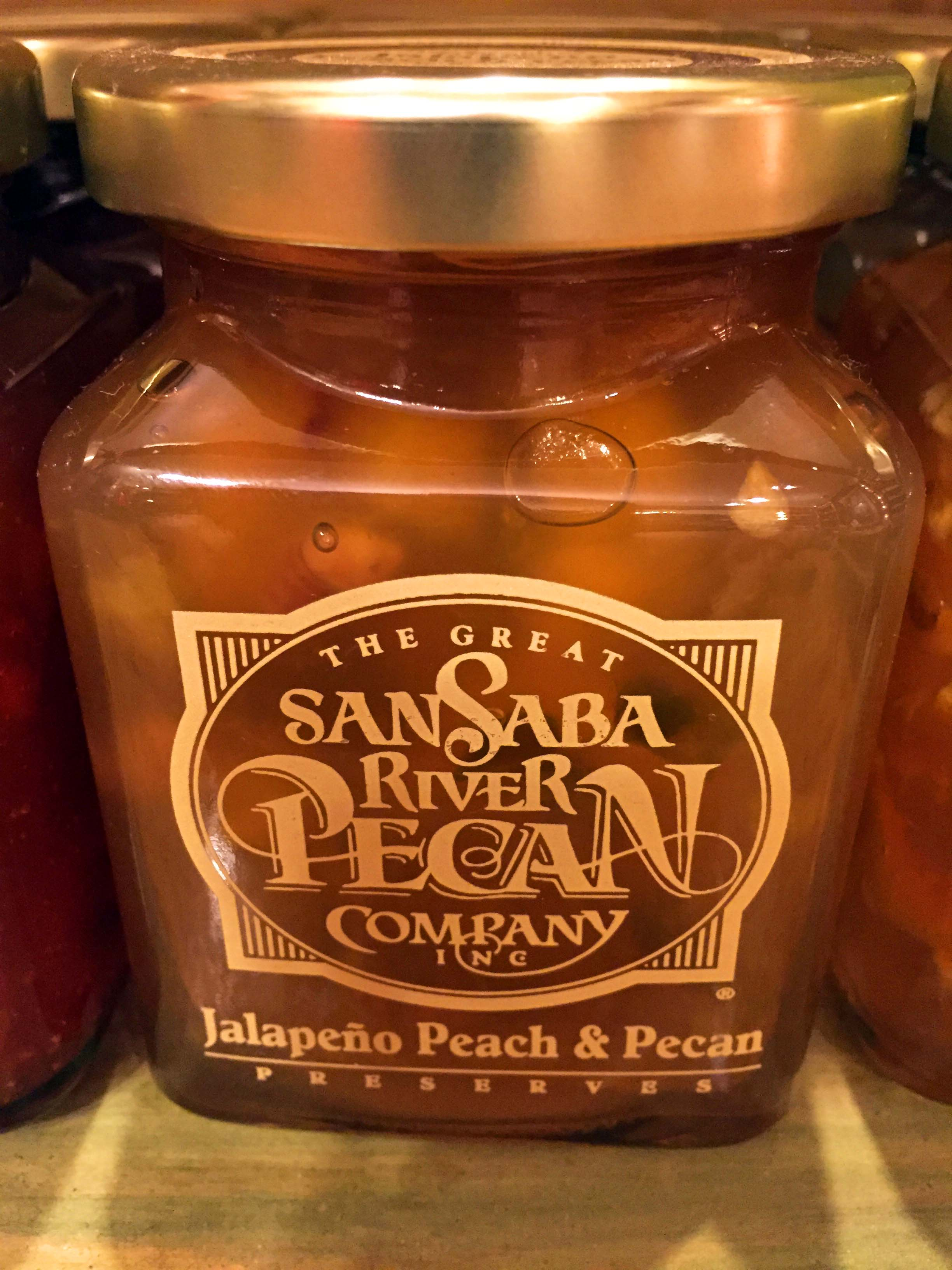 Jalapeno Peach and Pecan Preserve