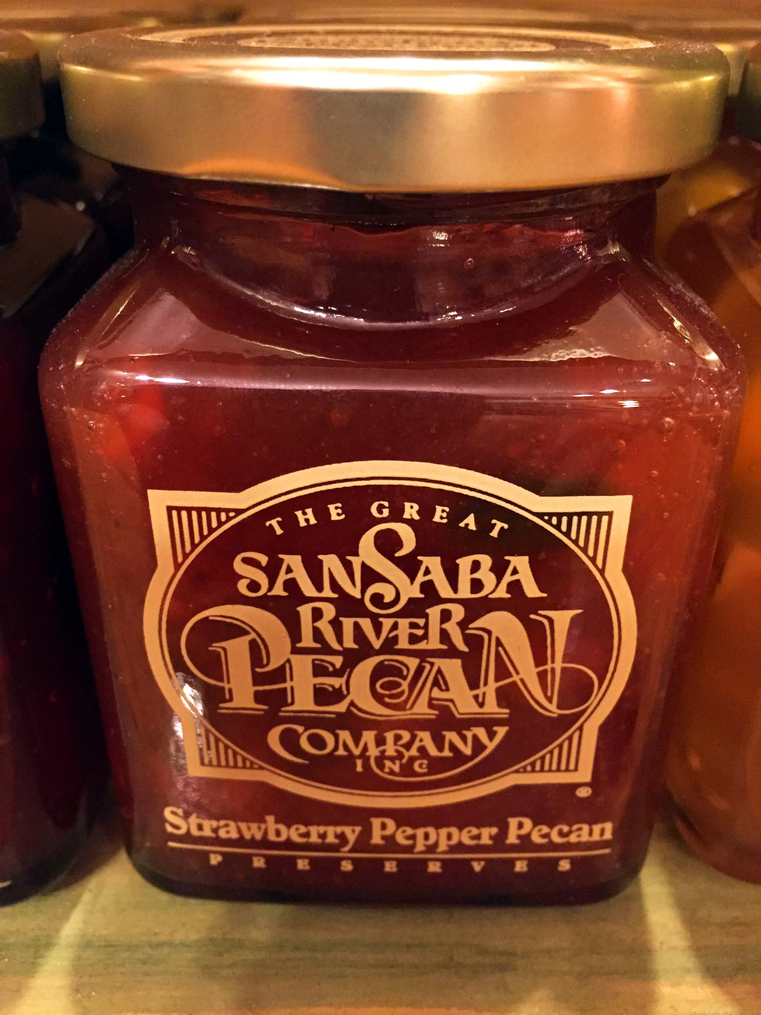 Strawberry Pepper Pecan Preserve