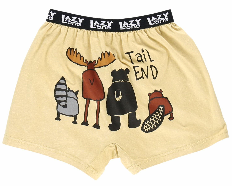Wanna Moose Around Silky Fun Unisex Briefs Boxer Shorts Gifts for Men Women