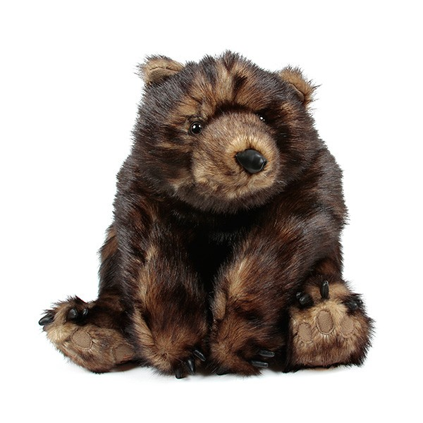"26"" Huggable Grizzly Bear"