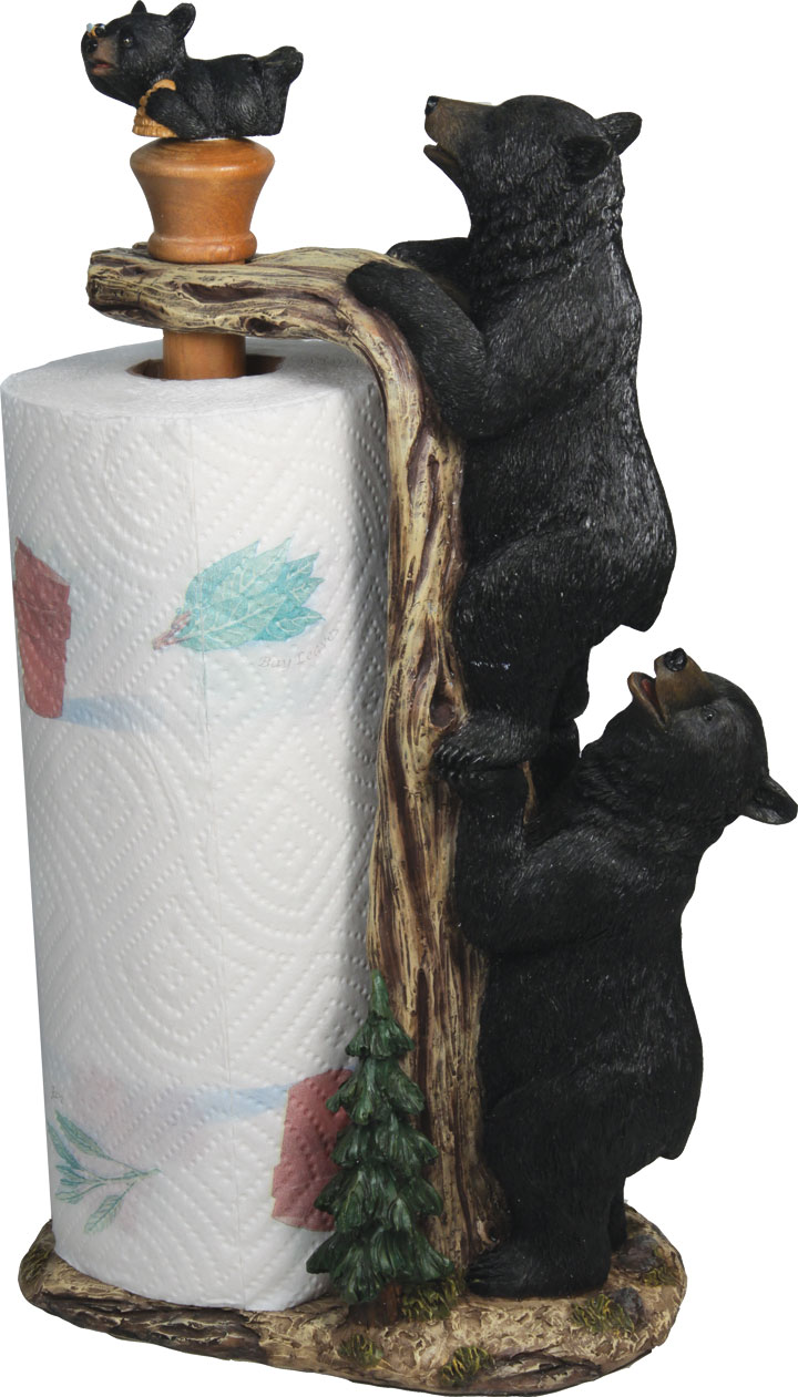 Climbing Bear Paper Towel Holder
