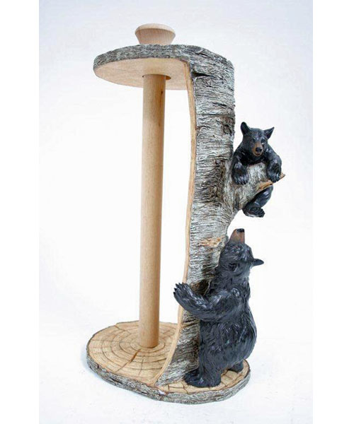 Bears and Birch Paper Towel Holder