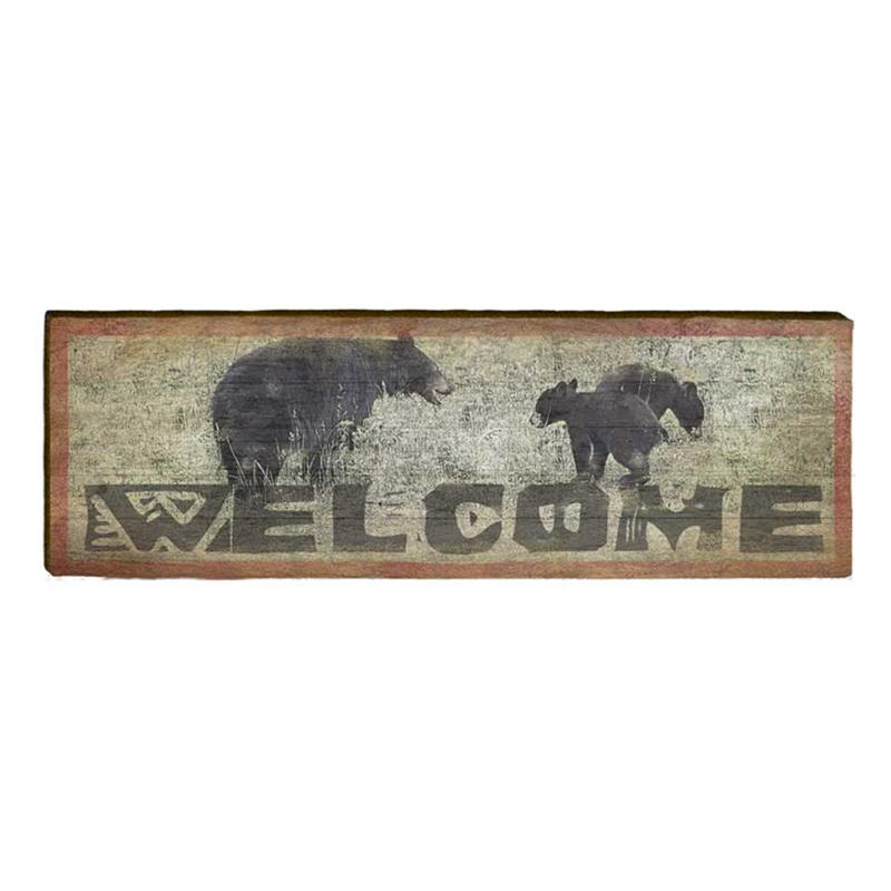 Welcome Bears Wall Art