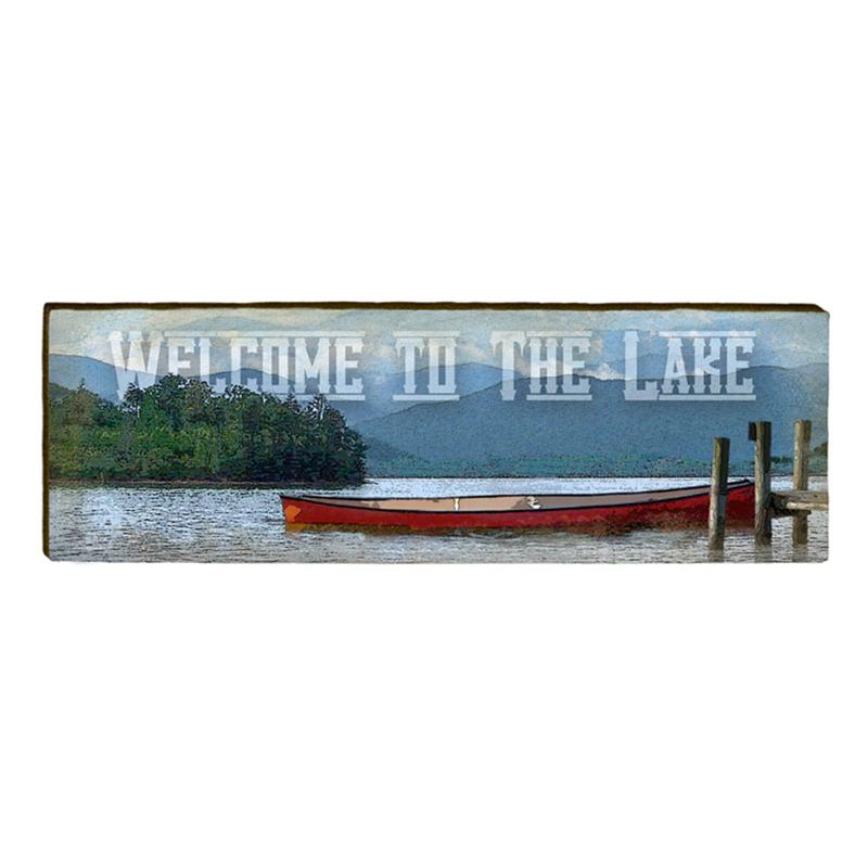 Welcome to the Lake 2 Wall Art