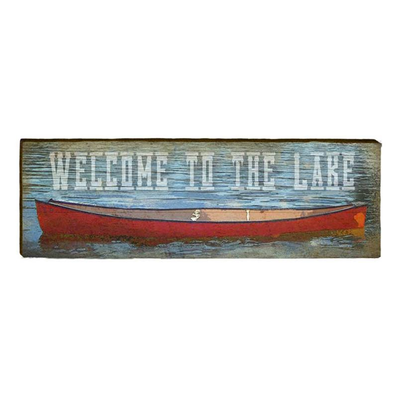 Welcome to the Lake Wall Art