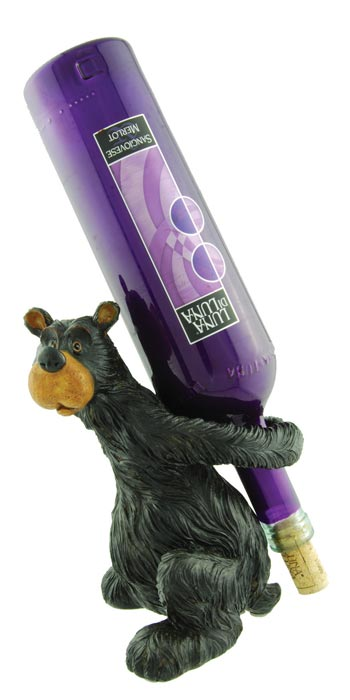 Willie Bear Wine Bottle Holder
