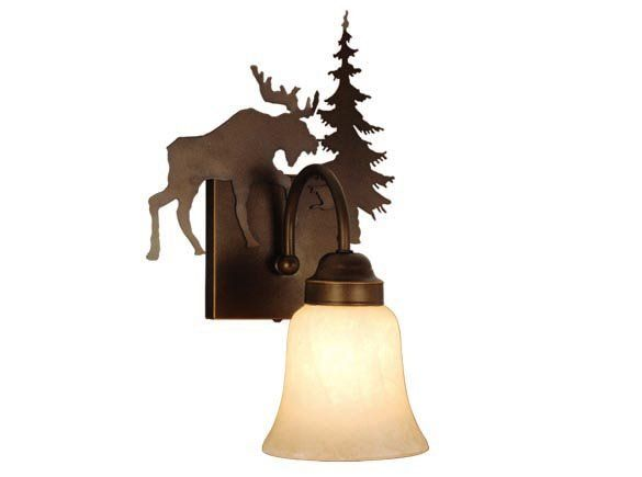 Yellowstone Moose Wall Sconce