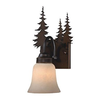 Yosemite Pine Tree Sconce